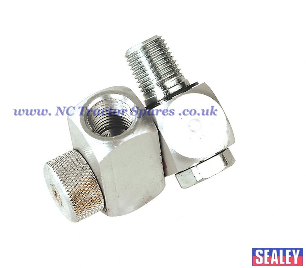 "Z-Swivel Air Hose Connector with Regulator 1/4""BSP"